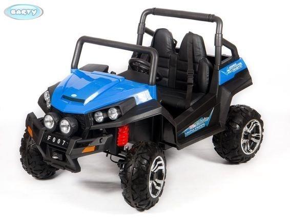 Электромобиль двухместный BUGGY синий