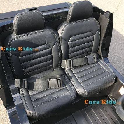 Электромобиль Volkswagen Amarok 4WD (2х местный, колеса резина, кресло кожа, пульт музыка)